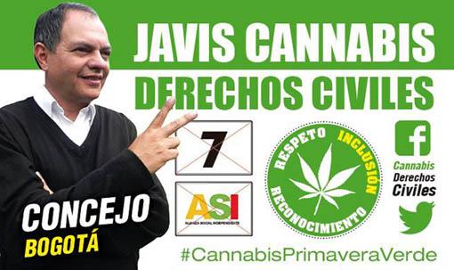 Propuesta de cultivo de marihuana por todo Bogota