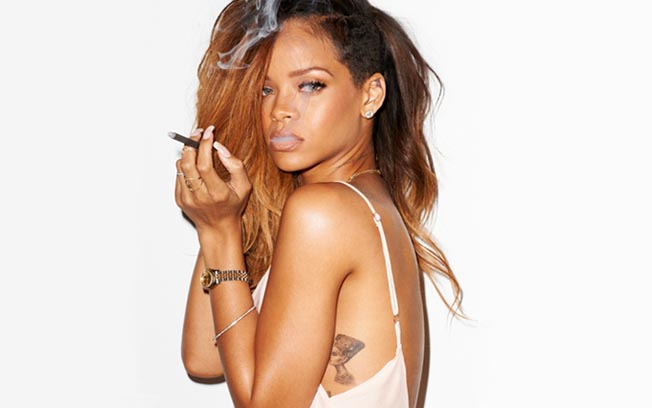 Rihanna creará su marca de productos de marihuana llamada MaRihanna
