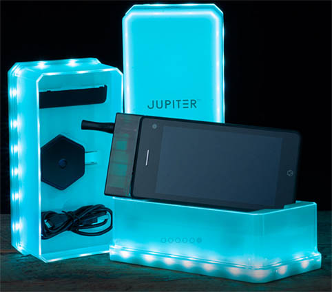 Jupiter, el nuevo smartphone para consumir marihuana
