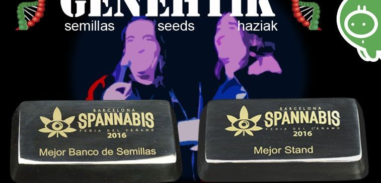 Genehtik, mejor Banco de Semillas en Spannabis 2016