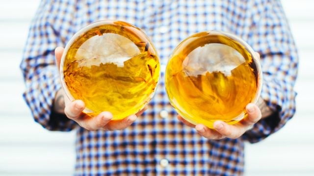 Bolas de dragón compuestas de aceite de cannabis