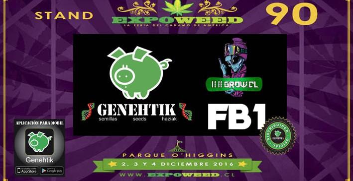 Semillas Genehtik en Expoweed Chile 2016