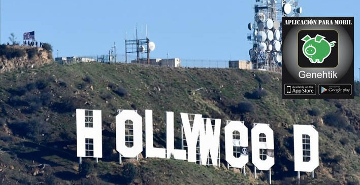 Hollywood celebra la marihuana en California