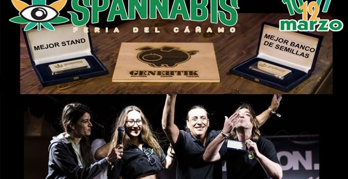 Genehtik – Mejor banco de semillas y stand en Spannabis 2017