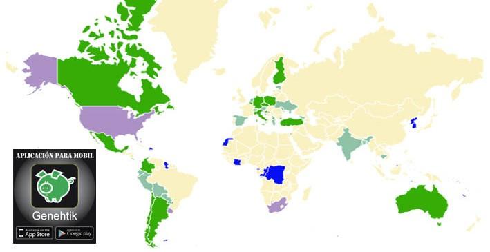 Estado de la regulación del cannabis en el mundo y EEUU