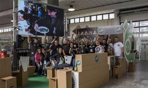 Stand de Genehtik Legalized en Canapainmostra 2016
