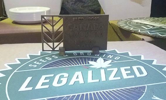 Premio al mejor stand en Canapainmostra para Legalized