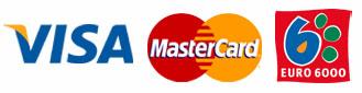 Tarjetas de crédito aceptadas en la tienda online Genehtik