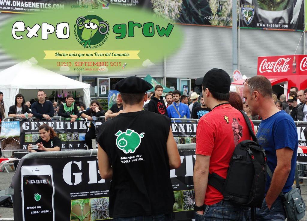 Éxito de público en la feria cánnabica Expogrow 2015