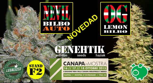 nuevas variedades de marihuana Genehtik 2015