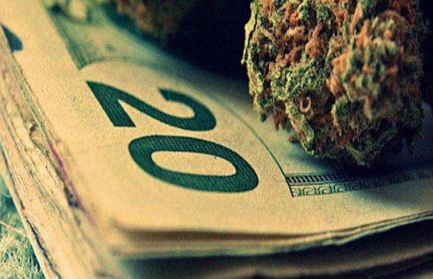 saturación de dinero por la marihuana en Agencia Tributaria de California