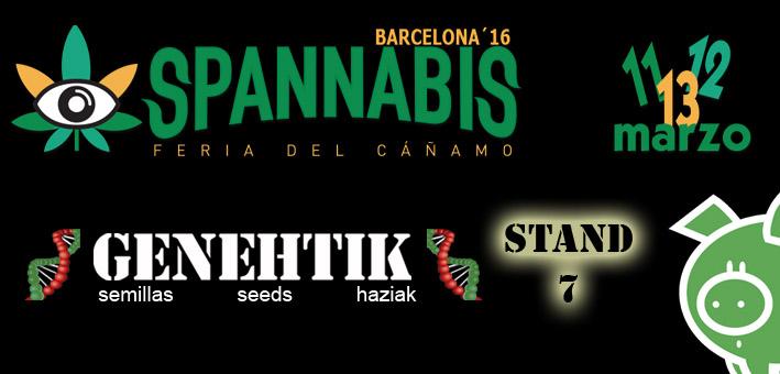 Feria del cannabis Spannabis 2016 en Barcelona