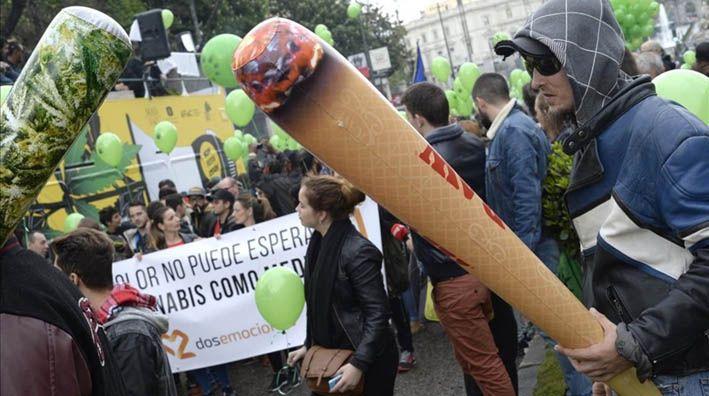 Ciudades de todo el mundo han acogido manifestaciones reclamando la legalización de la marihuana