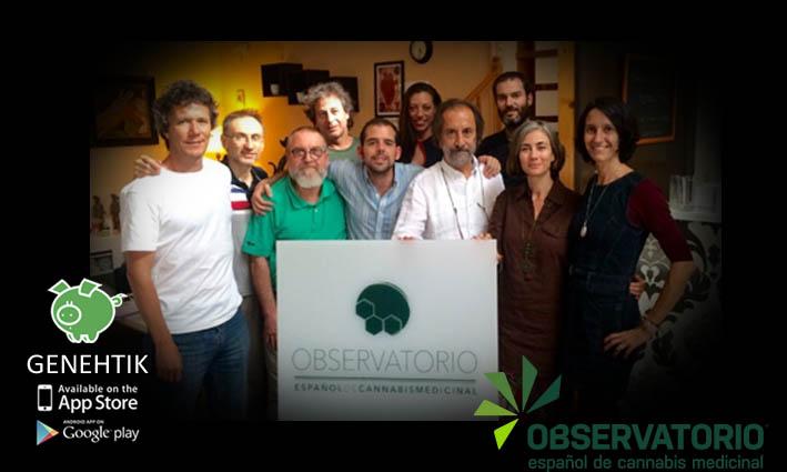 Plataforma investigación cannabis medicinal OECM