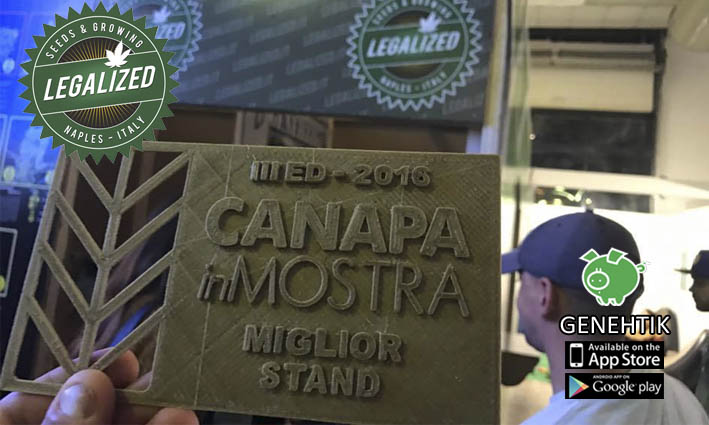 Legalized mejor stand CanapaInMostra 2016