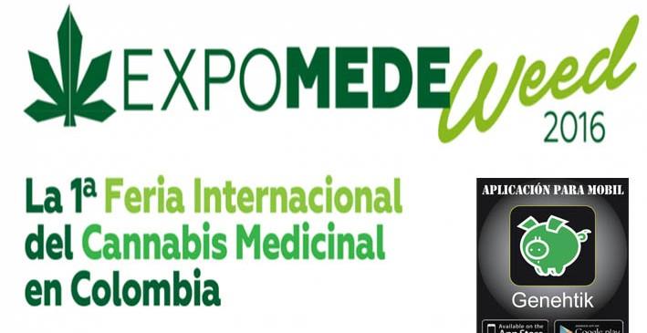 Feria del cannabis Expomedeweed 2016 Colombia