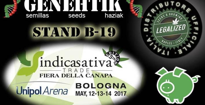 Feria del Cannabis IndicaSativa Trade 2017 Bolonia