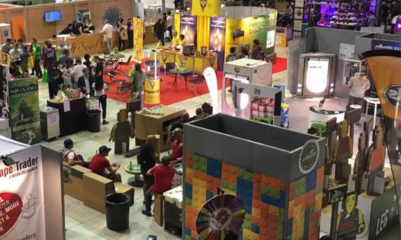 Feria IndicaSativaTrade 2017 stand Genehtik-Legalized