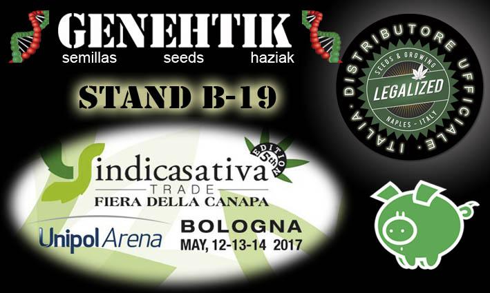 Feria del Cannabis Indica Sativa Trade 2017 Bolonia