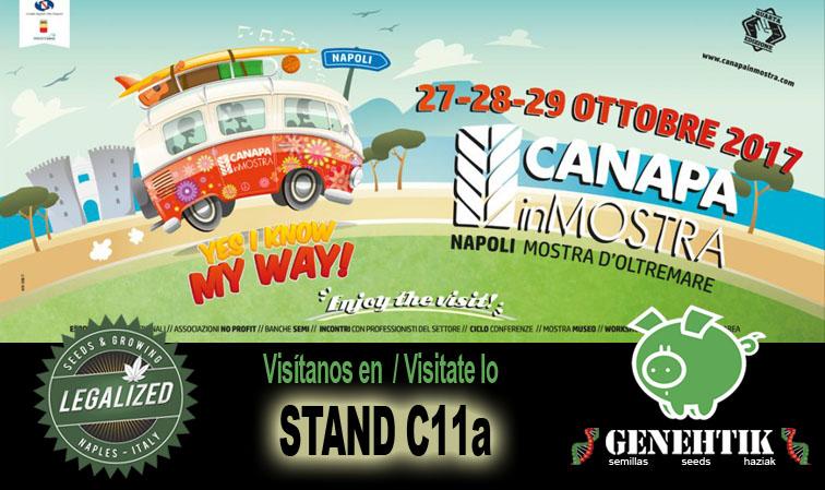 Feria del cannabis CanapaInMostra 2017