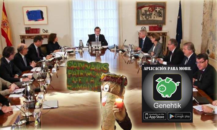 El Gobierno pide suspender la ley catalana de cannabis al TC