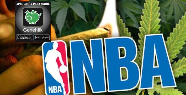 La marihuana medicinal en la NBA