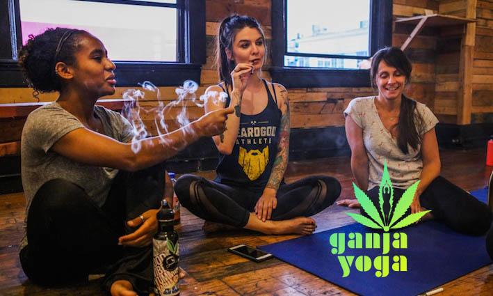 La práctica de Yoga con marihuana
