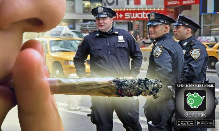 Nueva York no arrestará por consumo de marihuana en sus calles