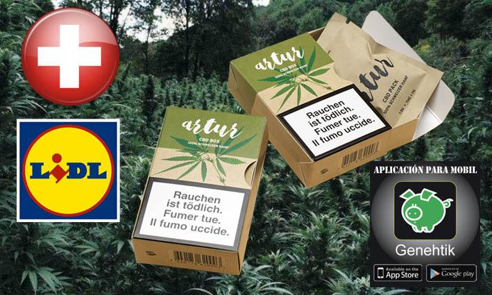 Los supermercados Lidl de Suiza venden cannabis