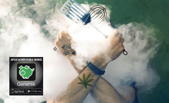 Programa de cocina con marihuana en Netflix