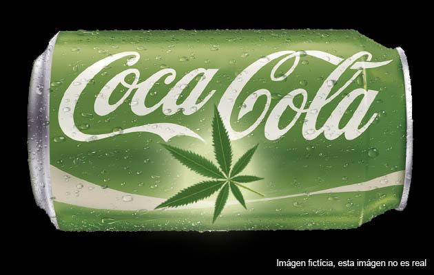 Coca-cola con CBD
