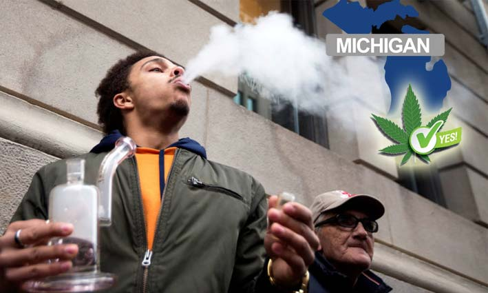 Michigan aprueba el uso recreativo de la marihuana
