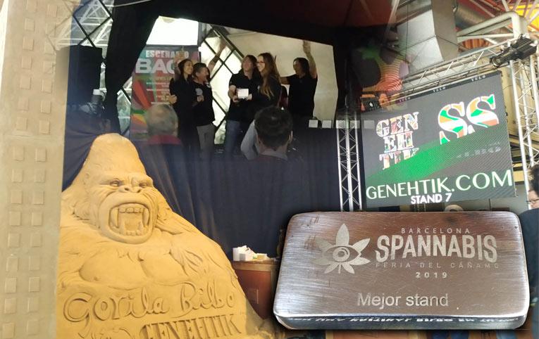Genehtik - Mejor stand en Spannabis 2019