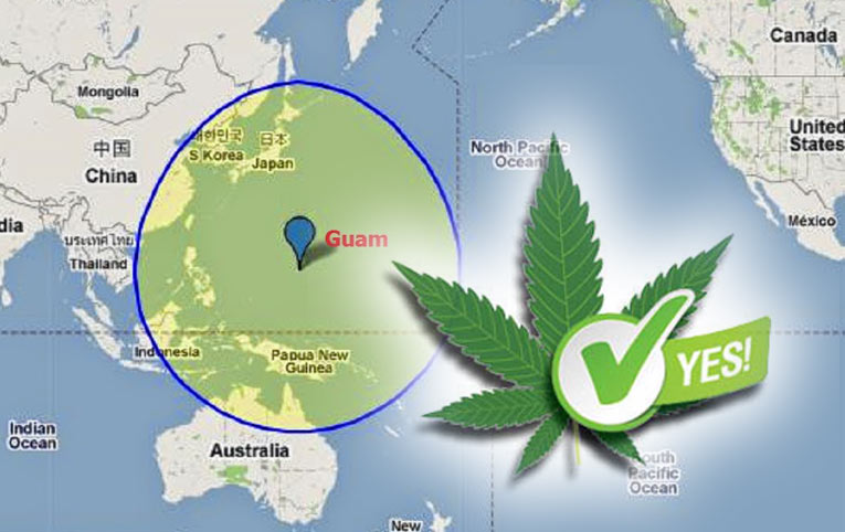 La Isla de Guam legaliza la marihuana para uso recreativo