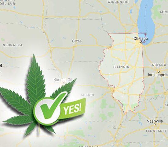 Illinois aprueba el consumo recreativo de cannabis