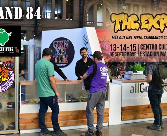 Genehtik en la feria del cannabis THC Expo 2019 en Santiago de Chile