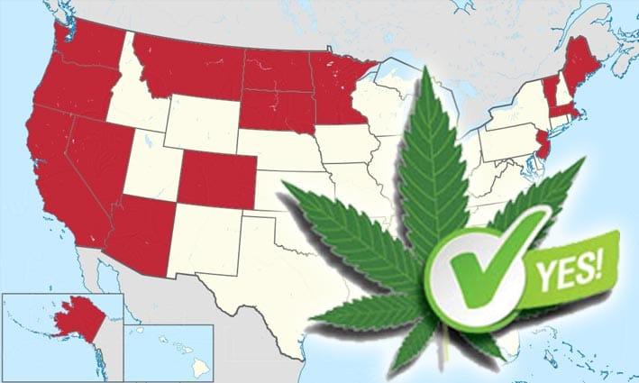 uso recreativo de cannabis en EEUU
